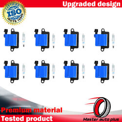 Acdelco Double Platinum Spark Plug And Ignition Coil For Gmc 4.8l 6.0l 8.1l 5.3l