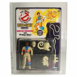 Kenner The Real Ghostbusters - Ecto Glow - Winston Zedmore - Moc Afa / Ukg 85