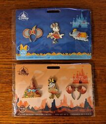 Minnie Mouse Main Attraction Dumbo And Thunder Mountain Pins