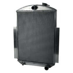 For Chevy Fleetmaster 41-46 Afco Street Rod Performance Radiator W Fan