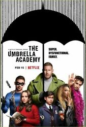 291054 The Umbrella Academy Jeremy Slater Tv Series Poster Print Wall