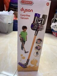 New In Box Casdon Dyson Handheld Cord Free V8 Vacuum Real Suction Toy Kids Gifts