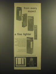 1964 Dunhill Rollagas Cigarette Lighter Ad - From Every Aspect A Fine Lighter