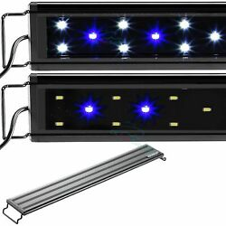 Aquaneat Led Aquarium Light With Night Mode Freshwater 24 30 36 Blue And White