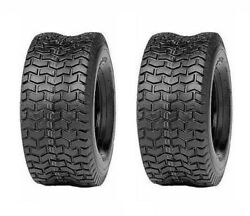 Two Tires 18x8.50-8 Turf Tires 4 Ply Tubeless, Lawn Mower Tractor Tires 18 850 8