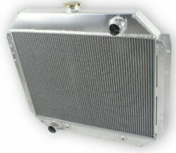 4 Row Radiator For 1966-1979 Ford F-100 F-250 F-350 Bronco Truck 68 71 72 75 78
