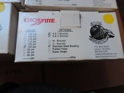 Crossfire Dual Equalizer Valve 100 Psi Tire Pressure Indication System