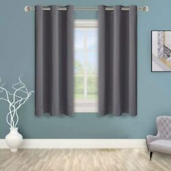 Bonzer Grommet Blackout Curtains For Bedroom - Thermal Insulated Energy Efficie