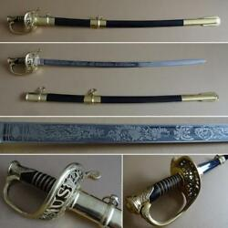 Windlass Stealcraft Model 1850 Union Staff And Field Officer's Sabre Sword