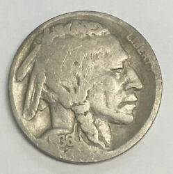 1936 D Denver Buffalo Indian Head Nickel 5 Five Cents Uncertified Circulated