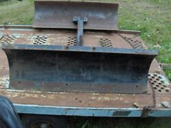 Ford Jacobsen Oliver 145 165 48 Lawn And Garden Tractor Snow/sand Plow