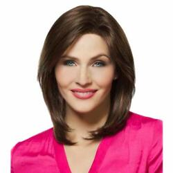 Mane Attraction Regal - Synthetic Lace Front Monofilament Wig In Toffee