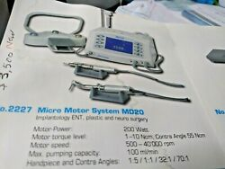 Nouvag Md 20 Complete Implant System With 321 Implant Angle And Foot Control