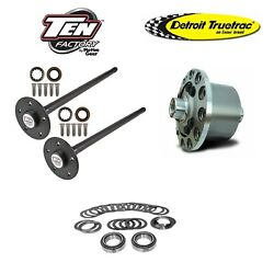 1979-1993 Ford Mustang 31 Spline 5-lug Axle Kit And Truetrac Posi Package Deal