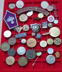 Small Group / Collection / Lot Jetons Medals World 39 Pc 265 G Xx32 006