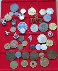 Small Group / Collection / Lot Jetons Medals World 43 Pc 381 G Xx31 029
