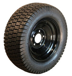 23x8.50-12 R/m Turf Lawn Garden Tractor Tire And Black Wheel Fit Simplicity Kit R7