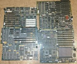 38ish Lbs Pounds Of Motherboards 286 To Modern Gold Recovery Vintage Scrap