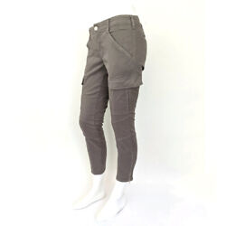 J Brand For Theory Womens Cropped Houlihan Low-rise Skinny Cargo Pants 26x26 New