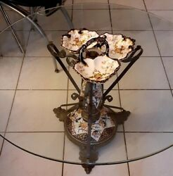 Antique Royal Crown Derby Old Imari Coffee Table