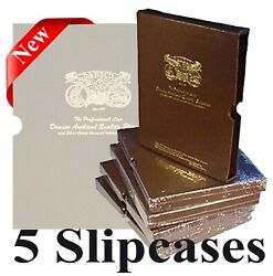 Dansco Album Slipcase 1 1/4 Pack Of 5 Coin Protection Corrosion Inhibiting Cover
