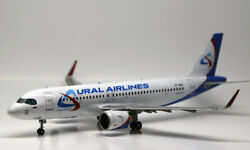 1/144 Pas-models+zvezda Airbus A320 Neo Ural Air. Assembled And Painted Model.