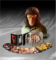 Planet Of The Apes Complete Collection With Special Figures / Dvd Region 2