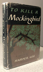 Harper Lee To Kill A Mockingbird First Edition 2nd Printing Jacket 1st/2nd