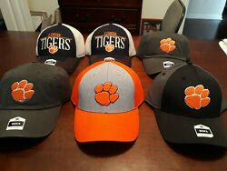Clemson Tigers Ncaa Hat Cap Lot Of 6 Caps New With Tags Clemson
