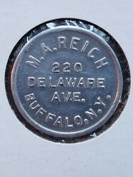 Buffalo, Ny Trade Token M. A. Reich Hand Wrought Gold Rings, Tc-88335