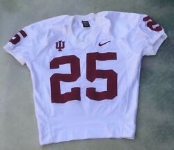 Vintage Nike Ncaa Indiana Hoosiers 25 Football Jersey Size M__made In Usa.