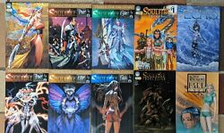 Michael Turner's Soulfire- Search For The Light, Aspen Comics Lot Of 8, Echo