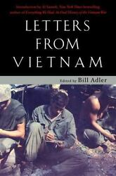 Letters From Vietnam Voices Of War By Adler, Bill