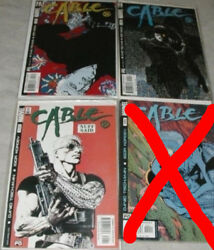 Cable U-pick One 100101102103104105106107 Or Annual And03998 Priced Per Comic