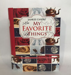My Favorite Things Yankee Candle Set Signed Von Trapp Grandkids