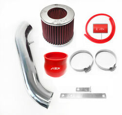Airx Racing Red Air Intake Kit For 1994-2001 Acura Integra 1.8l L4 Ls Rs Gs