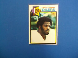 1979 Topps Football 390 Earl Campbell Rc Nmt+++