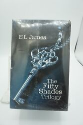 The Fifty Shades Of Grey Trilogy El James 3 Book Set Brand New Factory Sealed