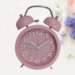 1pc Bell Small Clock Creative Bell Small Alarm Clock for Office Bedroom Home