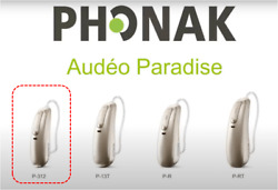 New Phonak Audeo Paradise P90pair 312 Battery With Basic Fitting