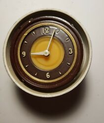 1941 Lincoln Continental And Lincoln And Zephyr Original Dashboard Clock Works