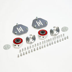Front Camber Kit -1 +3 +caster +/-0.50 Left+right Bmw Z4 E85 03-08 Rwd