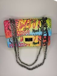Colorful Graffiti Luxury Handbag Bag Fashion Stylish Women Shoulder Cross Bags $47.99