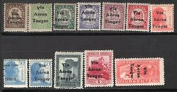 Spanish Morocco Tanger 1938 Air Mail Stamp Ed. 128/33, 135/9 And 141 Mnh