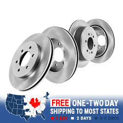 For 2010 - 2013 Nissan Patrol Front And Rear Premium Oe Brake Rotors