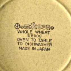 Mikasa Whole Wheat Jardiniere E 8000 Soup/cereal Bowls 6 In Total