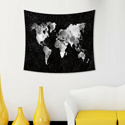 1pc Tapestry Black Tapestry for Living Room Window Curtain Bedroom Dorm