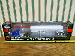 Blue Kenworth T660 Semi With Mississippi Anhydrous Tanker By Dcp 1/64th Scale