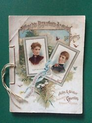 Allen And Ginter's Cigarette Cards World's Beauties Album-1st Series