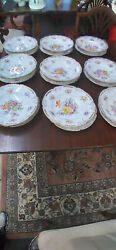Dresden Plates And Bowls 9 Sets Mint